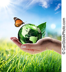 eco-friendly, begrepp