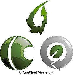 eco-friendly business logo