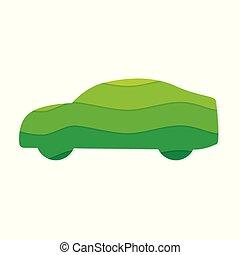eco friendly car icon