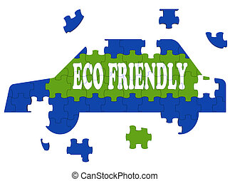 Eco Friendly Car Means Environmentally Clean Automobile
