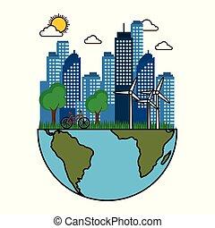 Eco friendly city