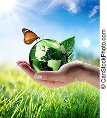 eco-friendly concept