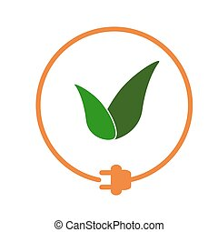 Eco-friendly energy sign