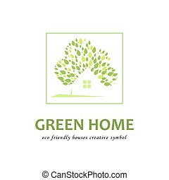Eco friendly green houses.
