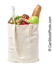 Eco-friendly groceries bag