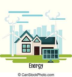 Eco friendly house design