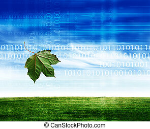 eco friendly leaf
