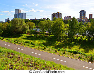 Eco-friendly Levoberezhny district in Khimki, Russia - Eco-...