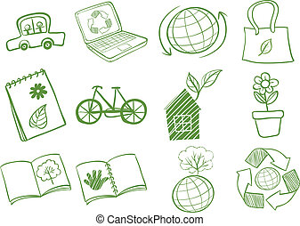 Eco-friendly logo designs