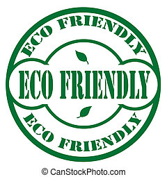 Eco Friendly-stamp