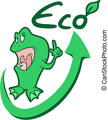 Eco frog