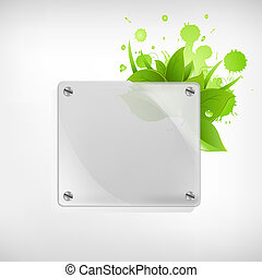 Eco Glass Background