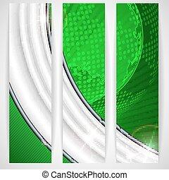 Eco Green Background.