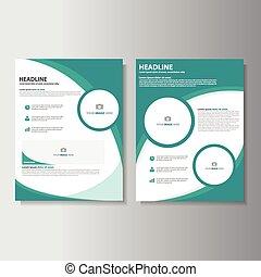 ECO Green Brochure templates