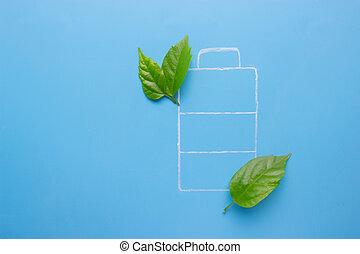 Eco green energy battery