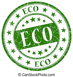 Eco Green Stamp