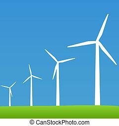 Eco Green Wind Turbines
