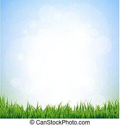 eco, groene achtergrond, verdoezelen