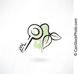 eco, grunge, icône principale