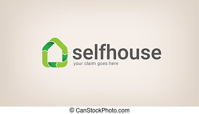 eco house logo company