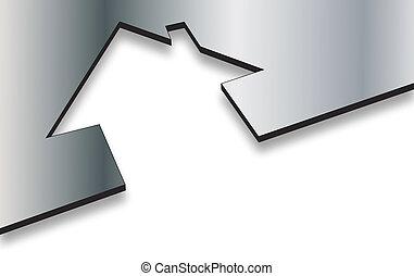 Eco house metaphor  - Eco house metaphor
