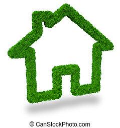 eco, huisvesting, vriendelijk