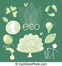 eco, icônes