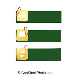 Eco icon ad tag ribbon banner, vector illustration eps10 004