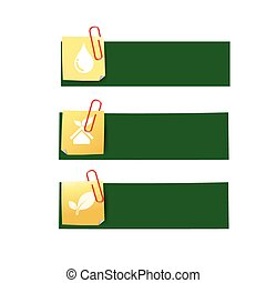 Eco icon ad tag ribbon banner, vector illustration eps10