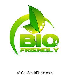 eco icon - bio friendly icon