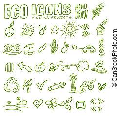 eco icons hand draw 4