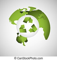 eco, koule, prostředí, design, hlína, ikona