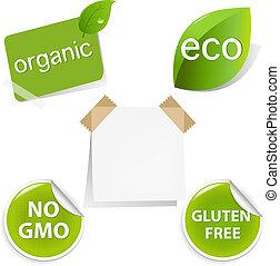 Eco Labels Set