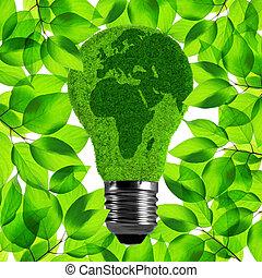 Eco light bulb.