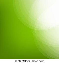 eco, ligne, arrière-plan vert