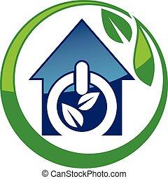 eco, maison, énergie