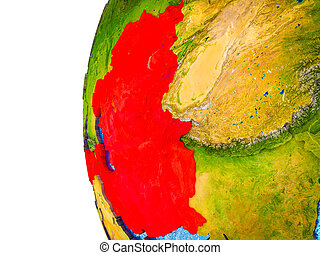 ECO member states on 3D Earth - ECO member states ...