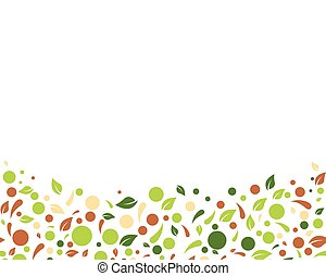 Eco nature Leaf Background Vector Illustration