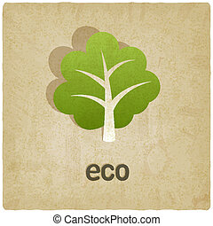 eco old background
