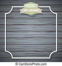 Eco Organic Vector Background