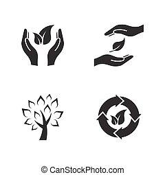 eco, pictografías