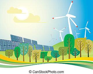 Eco power city