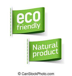 eco, prodotto, naturale, amichevole