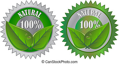 eco, produkt, naturlig, etikett
