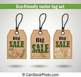 eco, przyjacielski, etykiety