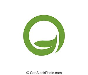 Eco Recycle logo template