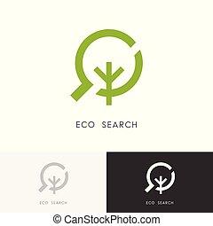 Eco search logo