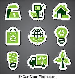 eco sticker label