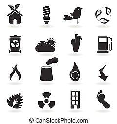 eco, symbolen, iconen