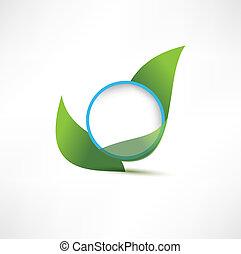 symbols with leaf